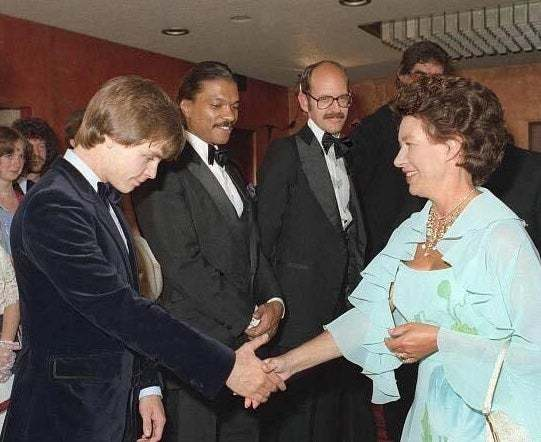 Taken moments after Billy Dee told Mark direct eye contact w royalty punishable by prison/beheading