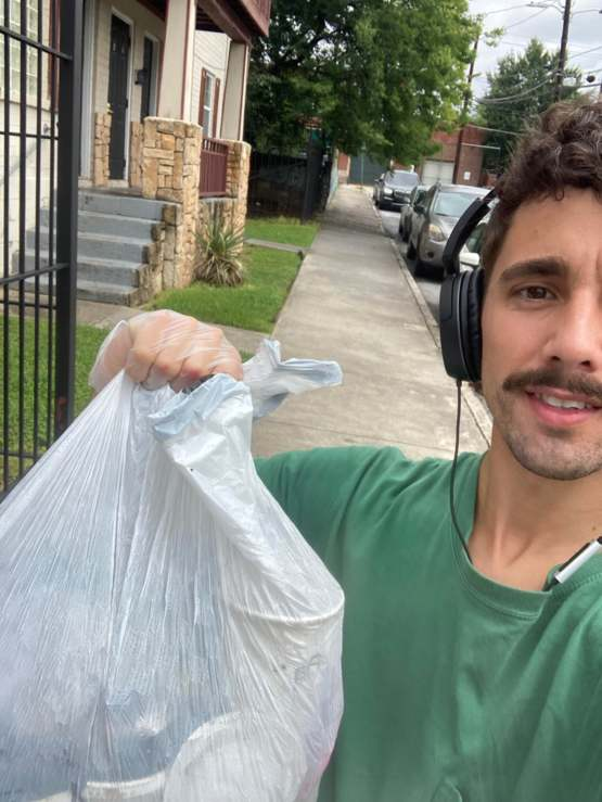 Cleaned up my street because the city of Atlanta couldn't care less