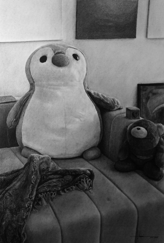 Charcoal Drawing I made for a client, hope you like it!