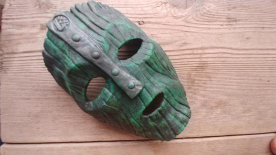 I tried to make the mask from the mask today
