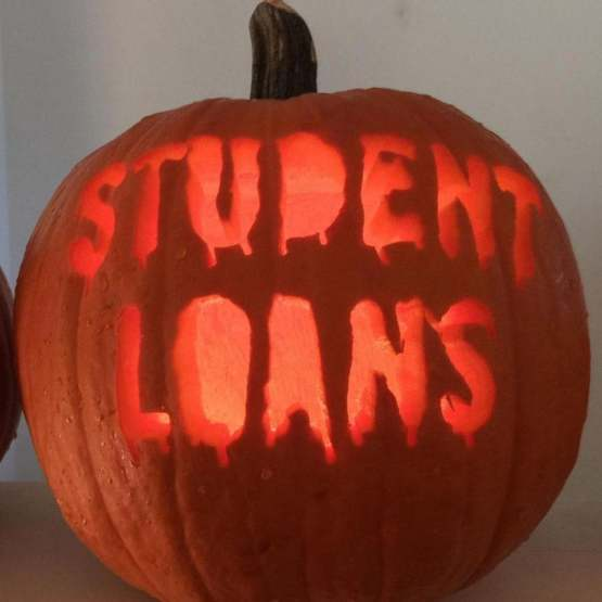 There isn't a scarier pumpkin than this