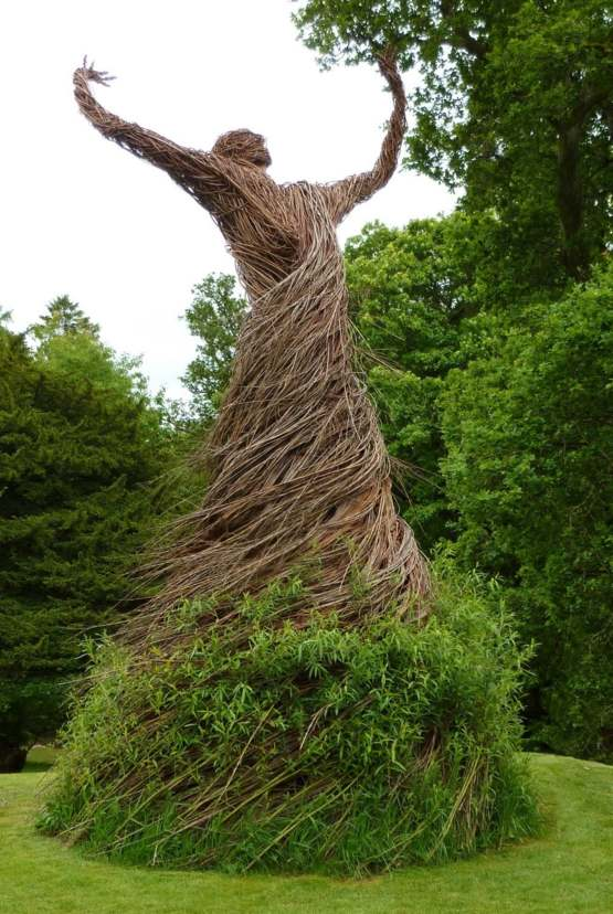Living Willow Statue