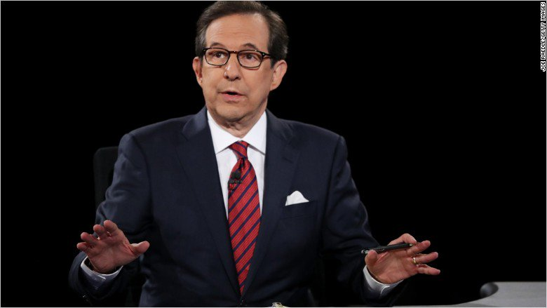 Chris Wallace delivers a sterling performance as the debate moderator