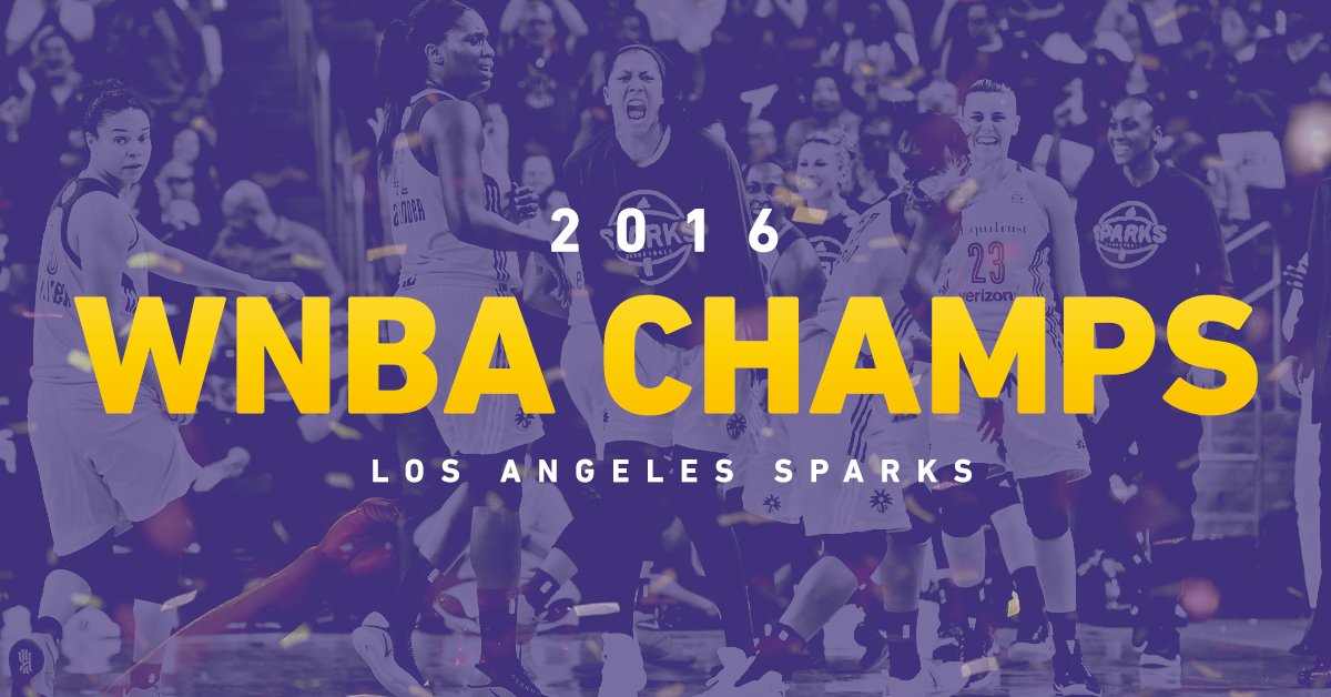 Congratulations to your 2016 WNBA Champs, !!