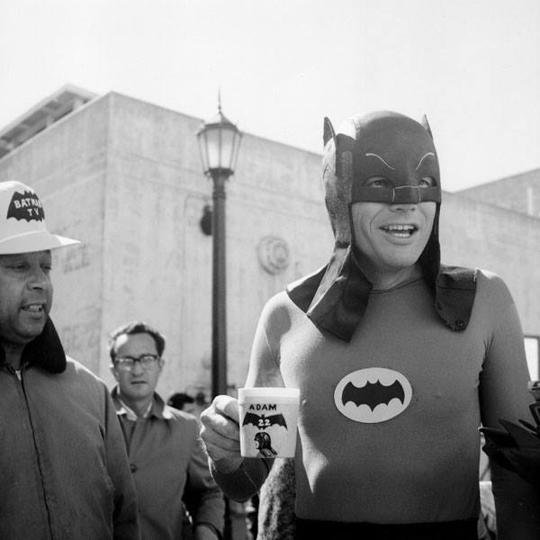 HistoricalPics: Adam West on the set of the 1960&rsquo