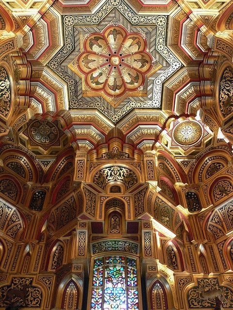 Interior of Cardiff Castle, Wales by Tony Jones - Trending on Twitter