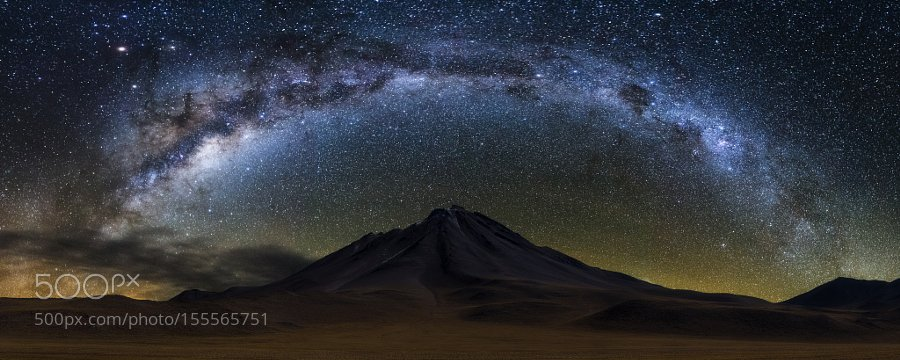 iTweetThere4iAM  Crown of Stars #photography by Victor Lima #Chile #MilkyWay ..