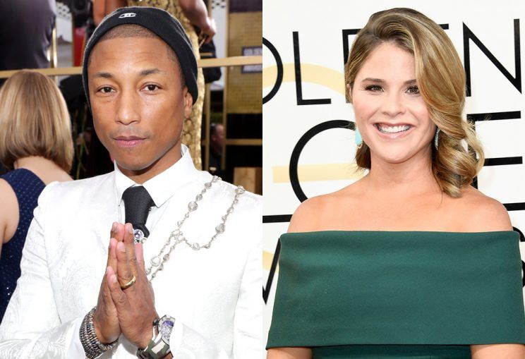 "Pharrell and ""Hidden Figures"" cast respond to Jenna Bush Hager's apology"