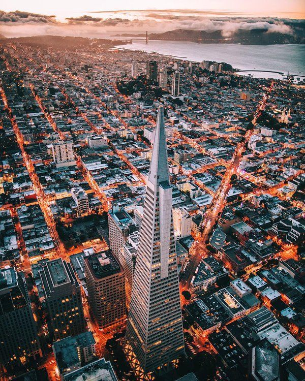 Downtown from above. San Francisco, California | Photo by kissdLA