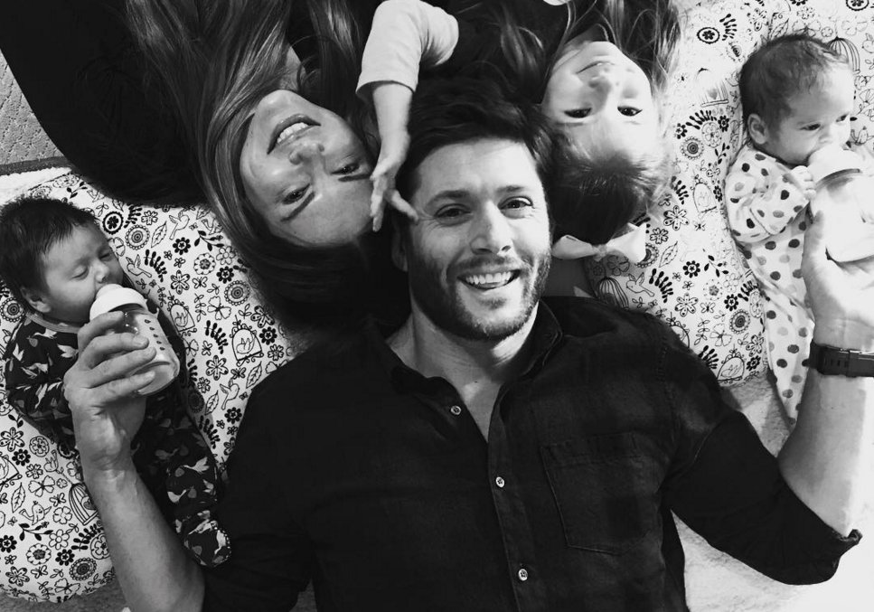 See the first photo of #Supernatural star 's growing fam