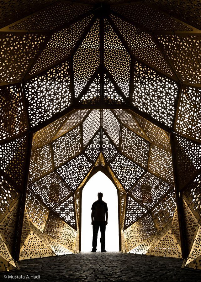 Incredible Structure Created With Intricate Patterns From Organic And Geometric Shapes Trending On Twitter