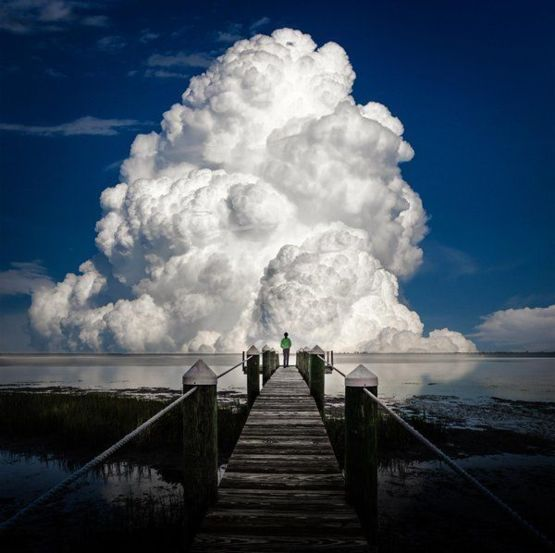Amazing Cloud Photography: Photo By Like He - Trending