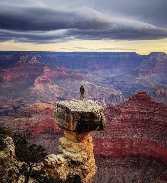 Taking in the views at Grand Canyon National Park