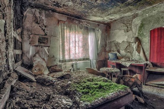 Abandoned Buildings photograph by Christian Richter