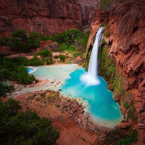 Havasupai Falls, Arizona | Photo by Cal Snape