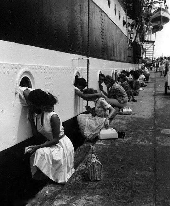 The Last Kiss, a Picture from #WW2  c  #LestWeForget #ARMY #Navy #photography