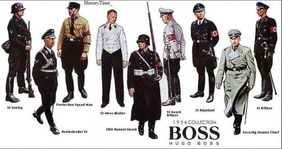 The Hugo Boss 1934 collection.