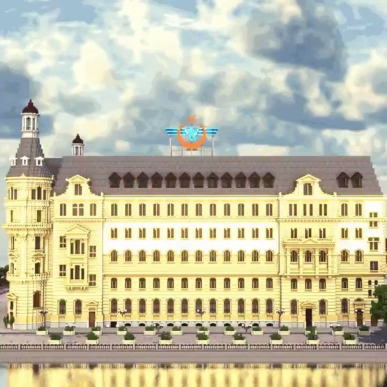 A recreation of Haydarpa?a Railway Station by