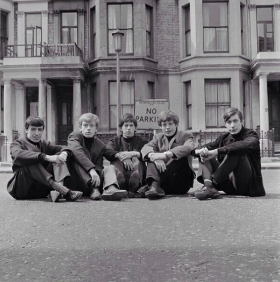 The first photo ever taken of the Rolling Stones, 1962