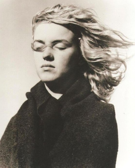 1946: Photograph of 20 year old Norma Jeane Mortenson, then changed to Marilyn Monroe.