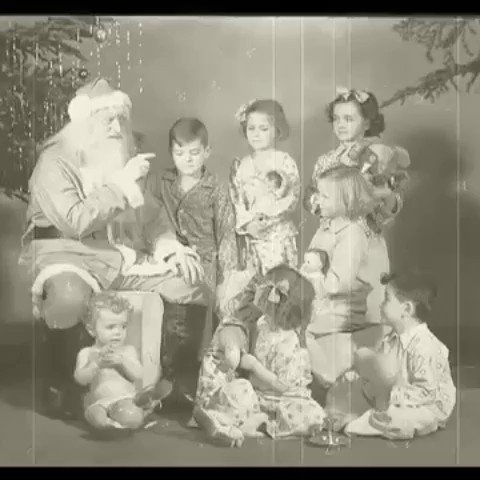 Some moments of Christmas  from history. Mostly 1920s