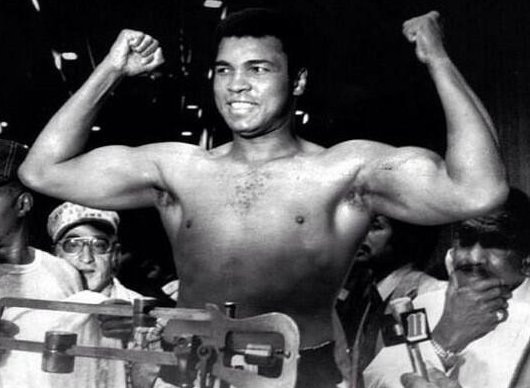 "Happy Birthday Muhammad Ali. ""I am the greatest, I said that even before I knew I was."""