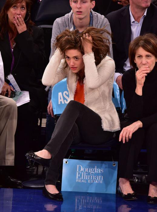 The #Knicks make  want to tear her hair out.