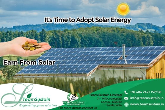 Owned a solar power Station with