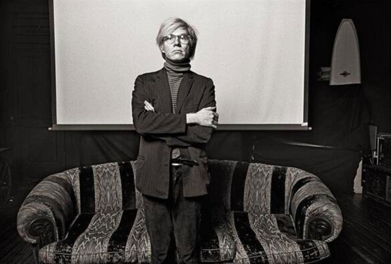 Andy Warhol, 1969. Photograph by Norman Seeff.