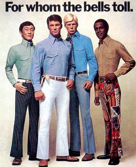 Fashion suggestion for today   Bell Bottoms, 1970