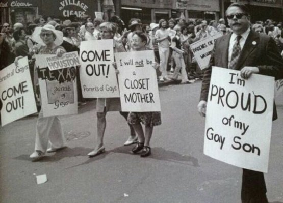 Gay Pride Parade In New York City 1974 #History