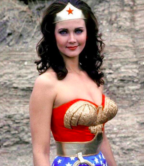 Lynda Carter as Wonder Woman, 1976