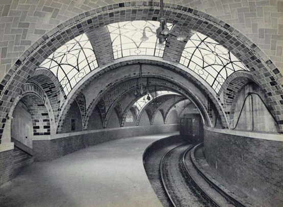 Original City Hall subway station, I Lexington Avenue Line, 1904