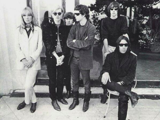 Lou Reed with Andy Warhol and The Velvet Underground, New York, ca. 1966