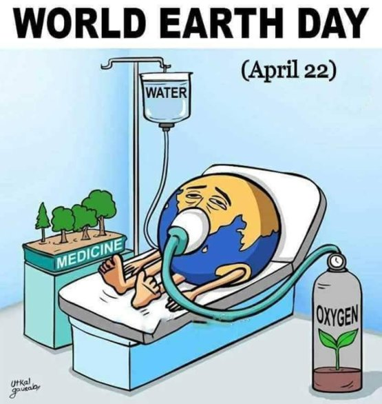 Save the world by planting trees  and save the water  And let finish the pollution   #savetheearth