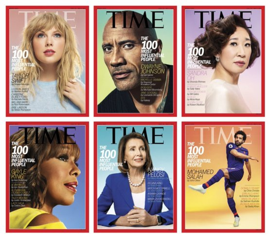 #TIME100 is out! Who are you excited to see featured this year