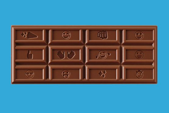 Check out  new emoji chocolate!