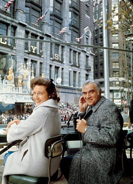 1965 Macy's Thanksgiving Day Parade. Hosted by Betty White and Lorne Greene.