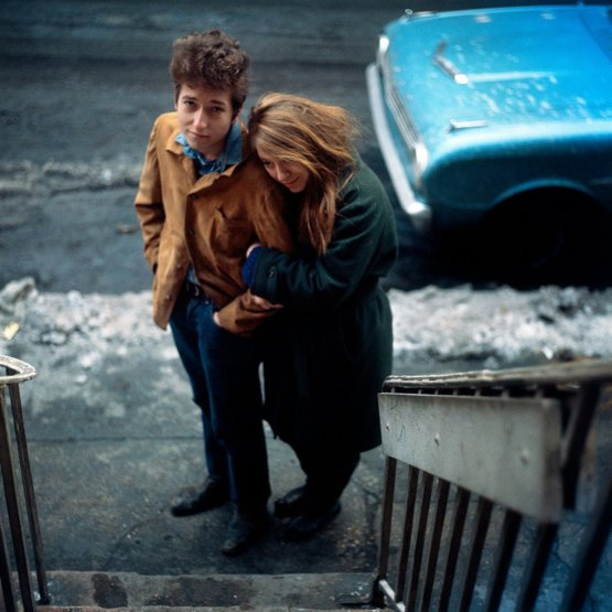 Bob Dylan and Suze Rotolo, 1963. Photograph by Don Hunstein.