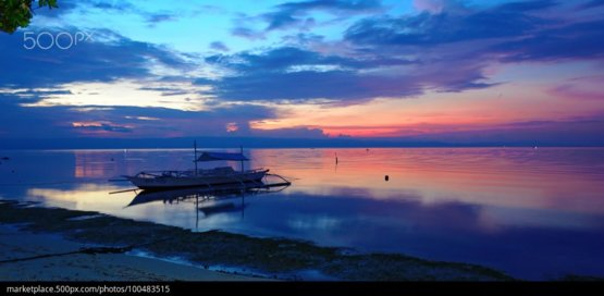 Bohol Sunset photography by