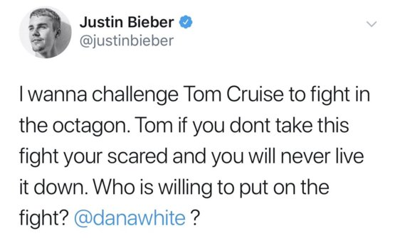 Most random celeb tweet of the year. Seriously tho, who would win  or  ????
