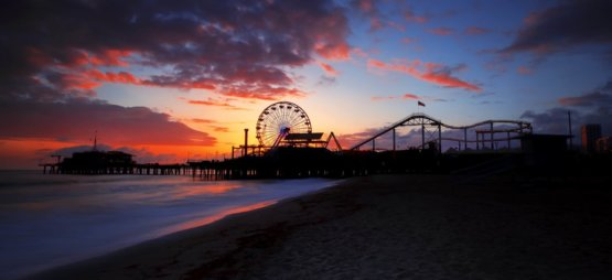 Santa Monica Pier photography by Dale Sharpe
