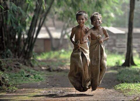 No iPhone, no toys, no television and see their face.