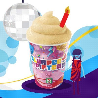 Here's your reminder that -Eleven is blessing all of our lives with free slurpees today