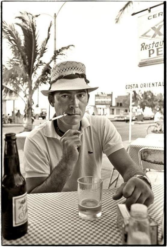 """ Hunter S. Thompson, Mexico, 1974"