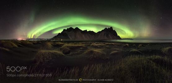 Aurora Circle photography by Oliver Schratz