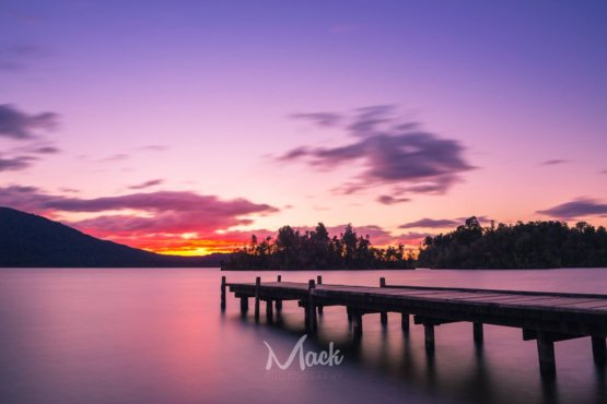 Kaniere Sunset photography by Mikey Mackinven