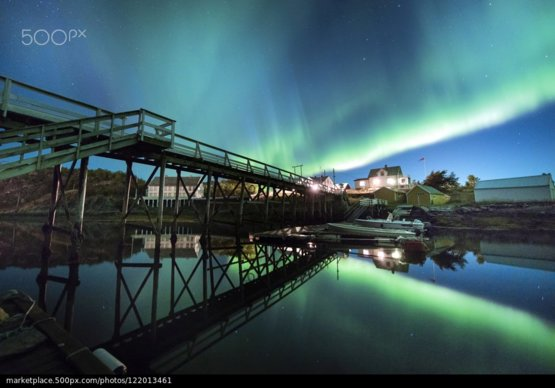 A Night Up North photography by Lillian M. Andresen