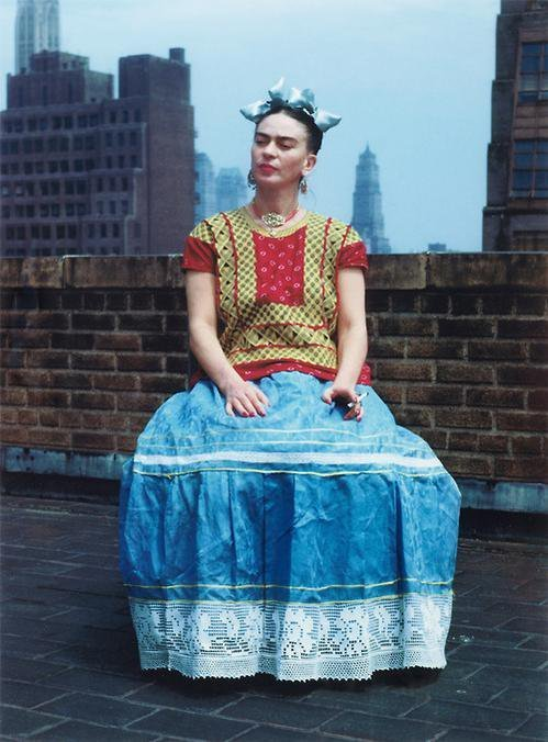 Frida Kahlo. NY, 1946. Photograph by Nickolas Muray.