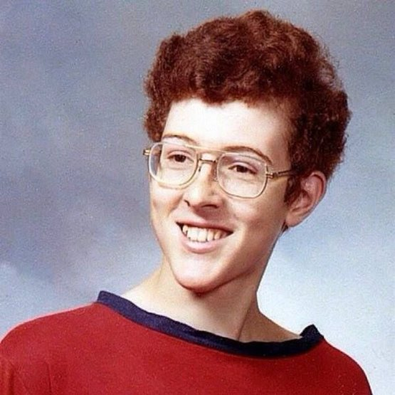 """Weird Al"" Yankovic in school, circa 1970s."